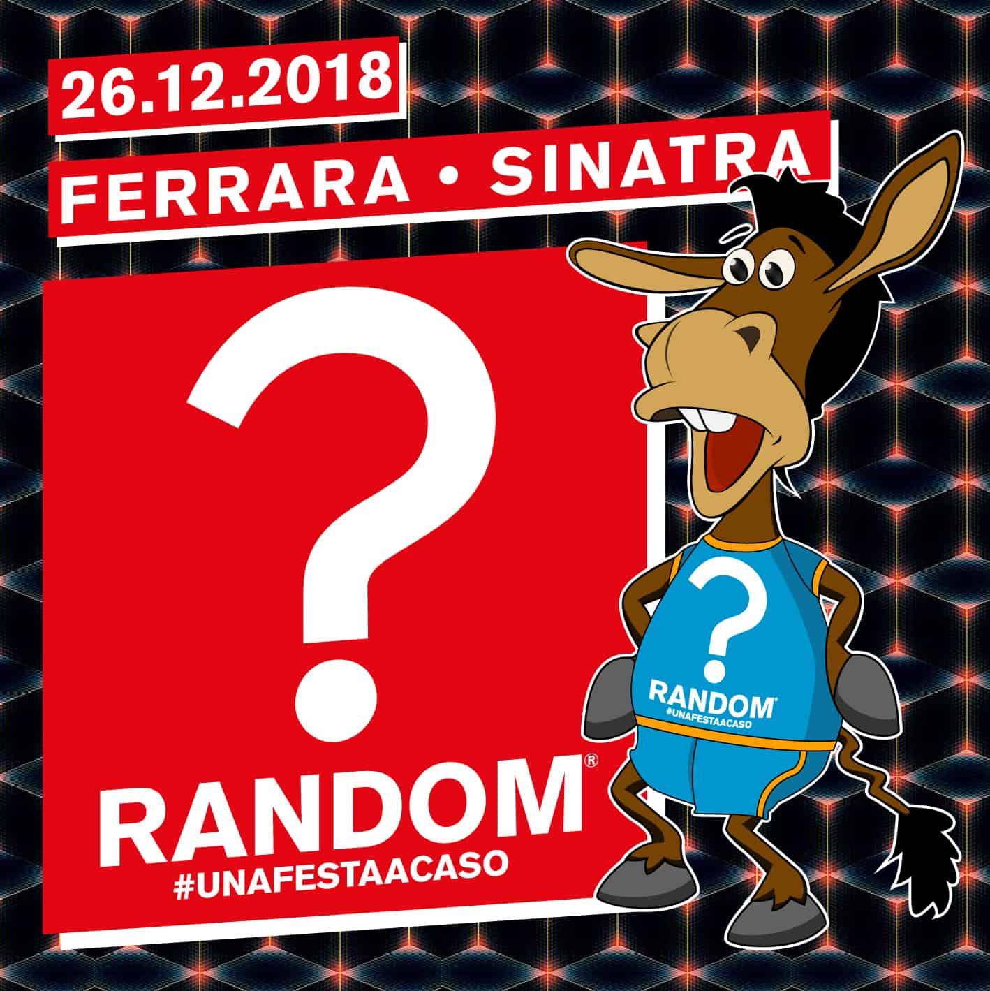 Random party Sinatra club Ferrara