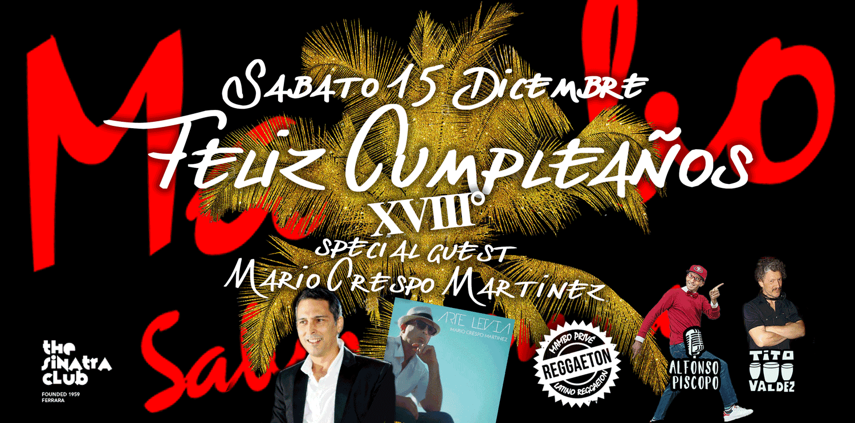 Mambo 15-12-2018 Dicembre Sinatra club ferrara